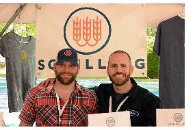 John and Jeff, co-founders of the Schilling Beer Company.