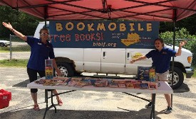 The new and improved Believe in Books Literacy Foundation's Summer Bookmobile is on the road.