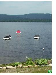 Newfound Lake is beautiful, is fed by 8 springs and has 22 miles of shoreline - Click for a larger image!