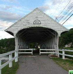 Groveton Covered Bridge - Click for a larger image.