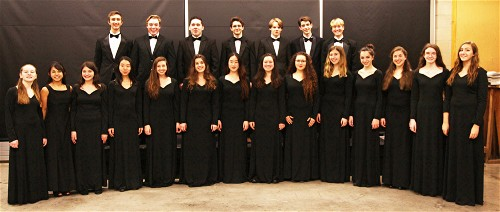 ST. JOHNSBURY ACADEMY HILLTONES TO PERFORM IN COLEBROOK MAY 27.