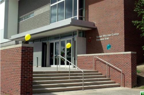 Savage Welcome Center and Hanaway Rink, PSU, Plymouth, NH.