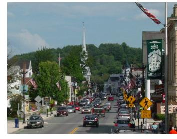 Littleton's downtown area is a vibrant marketplace.
