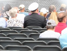Navy fails to seat hundreds at USS Manchester Commissioning Ceremony.
