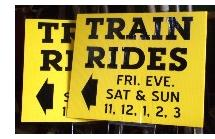 FREE train rides at the Silver Lake Railroad!