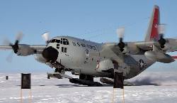 LC-130 Skibird Aircrews Train for Polar Operations.