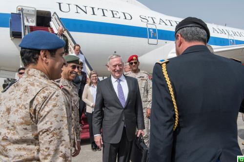 Defense Secretary Mattis Visits Saudi Arabia.
