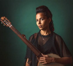 Rhiannon Giddens will be performing at Fuller Hall at the St. Johnsbury Academy, on Friday, June 22, 2018 at 6:30 pm.