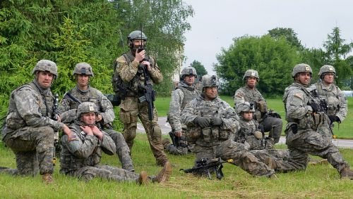 U.S. Soldiers Join British Marines, Polish Soldiers in Lithuania for Saber Strike 17.