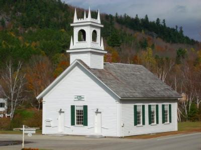 Stark Union Church, built 1853.