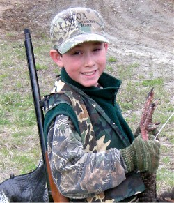 NH's Youth Turkey Hunt is April 28 & 29, 2018.