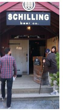 Schilling Beer Company Entrance