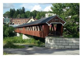 Riverwalk Covered Bridge, Littleton, NH